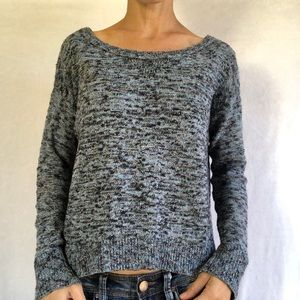 American Eagle Sweater Women's M blue sparkle